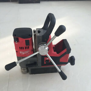 Used Milwaukee 2788 22 M18 Fuel 1 1 2 Cordless Magnetic Drill Metal Drilling
