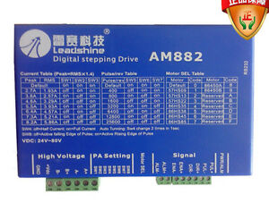 Leadshine Dc 80v 8 2a Am882 Digital Stepper Drive With Protection Function