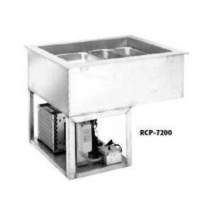 Wells Rcp 7600 Drop in Self contained Refrigerated Cold Food Well