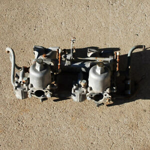 Datsun Fairlady Sports 1600 Su Carb And Intake Setup 66 67 68 69 Spl311 R16