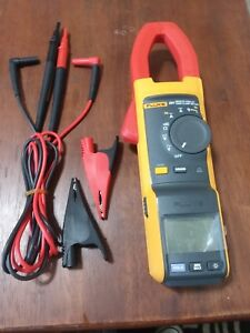 Fluke 381 Remote Display True rms Ac dc Clamp Meter With Iflex Great