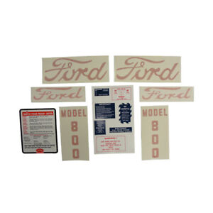Ford Tractor Decals D 8005557 Ford 800 Tractor