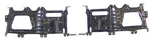 Dodge Ram 1500 2009 2012 Front Bumper Bracket Pair left Right