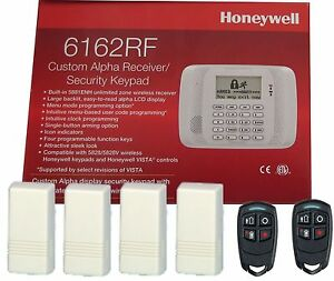 Honeywell 6162rf Keypad 4 5816 W Transmitter 2 5834 4 Key Fob