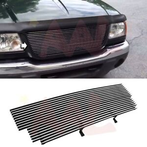 Aal 2001 2002 2003 Ford Ranger Edge 4wd Shell Open Upper Billet Grille Insert