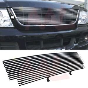 Aal 2001 2002 2003 Ford Ranger Xlt Xl 2wd Model 1pc Cut Out Billet Grille Insert
