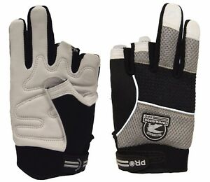 Gatorback 634 Fingerless Goat Skin Professional Work Gloves By Contractor Pro
