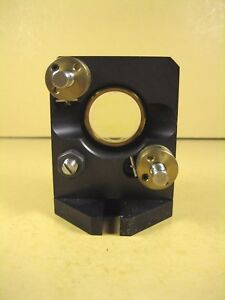 Optical Lens mirror Mount 1 Dia W Mounting Base Plate 2 3 4 ht X 2 1 8 w
