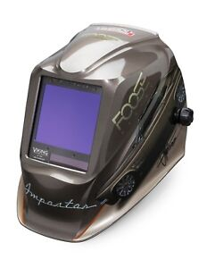 Lincoln Electric Viking 3350 Foose Impostor Auto darkening Weld Helmet K4181 3