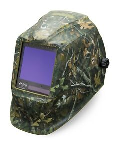 Lincoln Electric Viking 3350 White Tail Camo Auto darkening Weld Helmet K4412 3