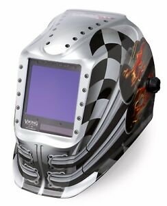 Lincoln Electric Viking 3350 Motorhead Auto darkening Welding Helmet K3100 3
