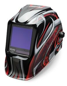 Lincoln Electric Viking 3350 Twisted Metal Auto darkening Welding Helmet K3248 3
