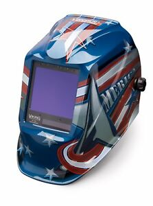 Lincoln Electric Viking 3350 All American Auto darkening Welding Helmet K3175 3