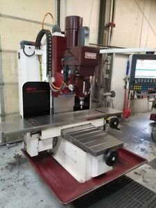 Fryer Mb 14q Cnc Vertical Mill 2014