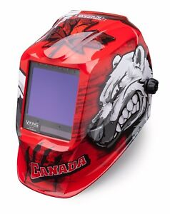 Lincoln Electric Viking 3350 Polar Arc Auto darkening Welding Helmet K3255 3