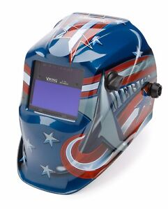Lincoln Electric Viking 1840 All American Auto Darkening Welding Helmet K3173 3