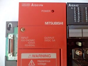 Mitsubishi Melsec Plc Expansion Unit no Cpu A1s61pn I o Aisx42 And A1sy42