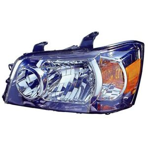 To2502151 Fits 2004 2006 Toyota Highlander Driver Side Headlight Nsf