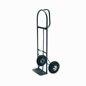 Milwaukee D handle Hand Truck 800lb Capacity 10in Tires Heavy Duty Metal Frame
