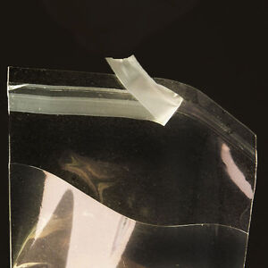 1000 6x8 Clear Resealable Bakery Candy Cookie Poly Cellophane Cello Bags