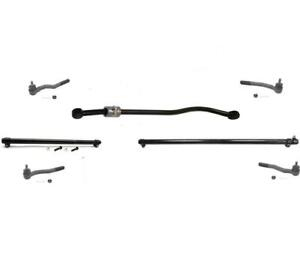 1999 2004 Jeep Grand Cherokee Steering Kit Tie Rods Sleeves 7pc Kit