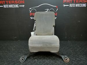 2005 Dodge Ram Pickup 1500 Center Front Cloth Seat dark Slate Gray V9dv tear