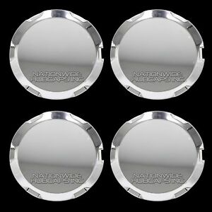 4 Chrome 2010 2016 Gmc Terrain 17 Wheel Center Hub Caps Rim Lug Nut Covers Hubs