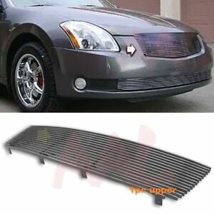Aal For 2004 05 2006 Nissan Maxima Upper Billet Grille Insert Cut Out