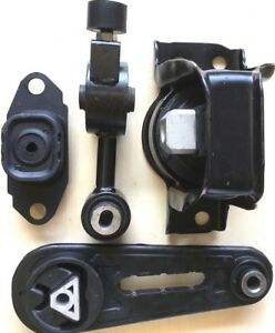 4pc Engine And Transmission Mount For 2007 2012 Nissan Versa 2009 2014 Cube 1 8l