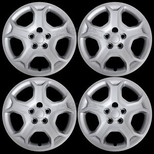 4 New 2017 2018 Ford Escape S 17 Hub Caps Full Wheel Covers Skins R17 Steel Rim