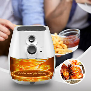 3 5l Electric No Oil Air Fryer With 6 Cooking Presets Temperatur e Control Timer