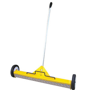 22 Extra Heavy Duty Magnetic Floor Sweeper On Wheels On W Treadplate 2 Pack