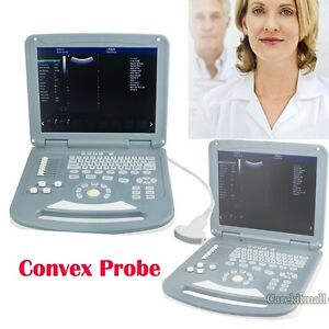 Portable 15 Lcd Color Doppler Ultrasound Scanner Pregnant Diagnostic System Ce