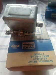 Nos Ford 1956 59 Ford Edsel Mercury T bird Overdrive Relay Fomoco