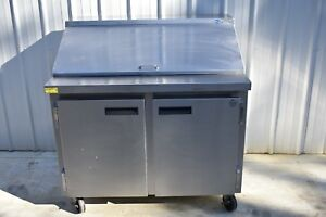 Wasserstrom 45 Refrigerated Prep Table