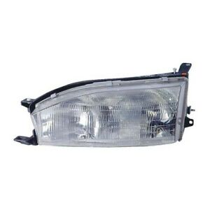 To2502105 Fits 1992 1994 Toyota Camry Usa Built Driver Side Headlight