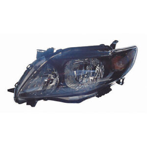 To2502183 Fits 2009 2010 Toyota Corolla S Xrs Driver Side Headlight Nsf