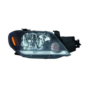 Mi2503150 Fits 2003 2004 Mitsubishi Outlander Passenger Side Headlight Capa