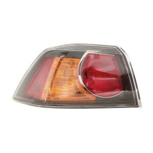 Mi2804103 Fits 2009 2017 Mitsubishi Lancer Evolution Driver Side Outer Taillight