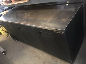 True Back Bar Cooler Refrigerator 115v Model Tbb 4