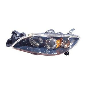 Ma2518113 Fits 2004 2006 Mazda 3 Driver Side Hid Headlight Lens Housing