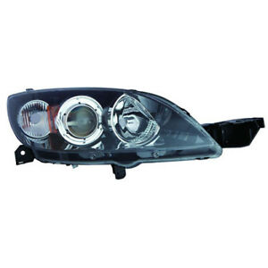 Ma2519153 Fits 2006 2009 Mazda 3 Passenger Side Hid Headlight Lens Housing