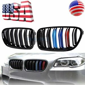 Look Gloss Black M Color Front Grille For Bmw F10 F11 528i 535i 550i M5 11 16 Us