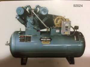 10 Hp Three Phase Saylor Beall Air Compressor