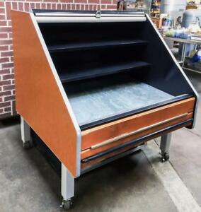 Southern Casearts Flx 4 48 Refrigerated Produce Table Bakery Merchandiser