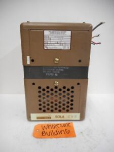 Sola Constant Voltage Transformer 23 22 15c 500va 60hz