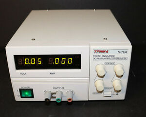 Tenma 72 7295 40v 5a Switching Mode Dc Regulated Power Supply