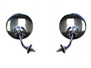Hot Rod Swan Side View Mirrors Pair