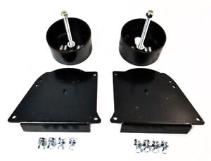 Gm A Body Air Ride Suspension Front Air Bag Brackets Bolt On 1964 72 Chevelle