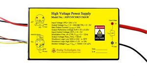 High Voltage Power Supply Ahv24v30kv1maw Linear Regulation Usa